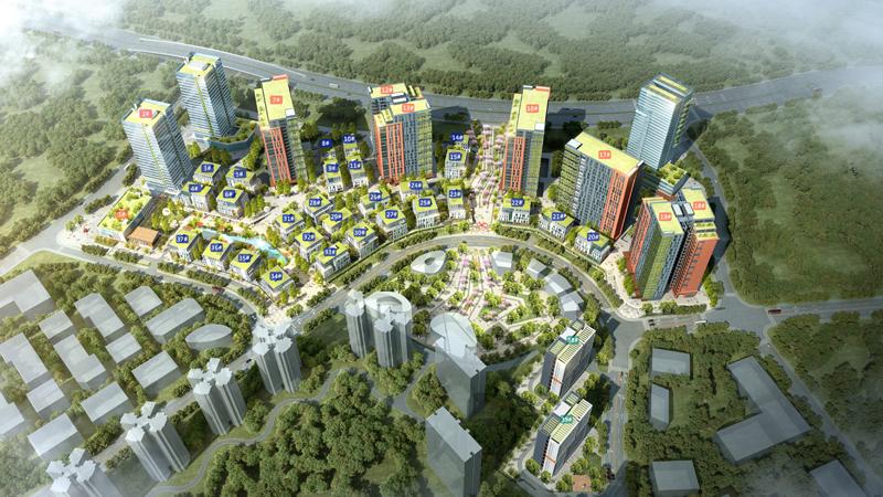 惠州市惠阳区新圩梅龙湖产业新城火爆招租,总占地面积.9.6平方公里,以构建和打造集产创研金一体化的智能制造产业园区。